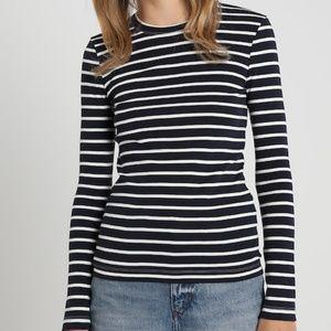 Petit Bateau Striped Long-sleeve T-shirt